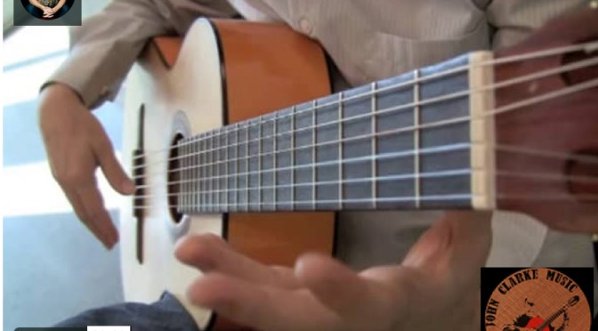 First Finger, First Fret, On-Off All Strings