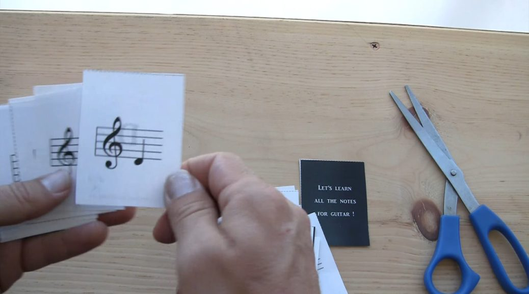 Music Notes Flashcards - Vimeo thumbnail