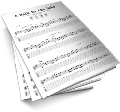 A Walk to The Lake Sheet Music TABS
