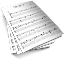 Jerusalem of Gold Sheet Music TABS