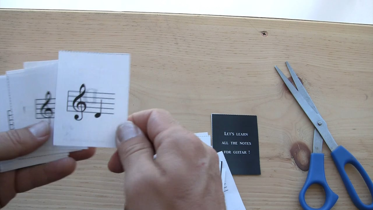 graphic relating to Printable Music Notes Flashcards called Audio Notes Flashcards
