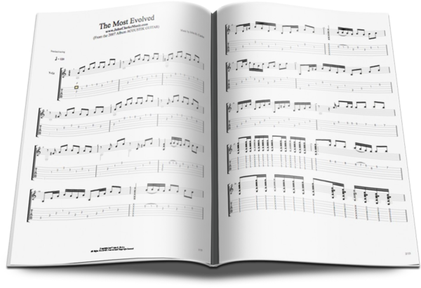 Official The Most Evolved Free Sheet Music tabs  Standard Notation