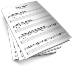 With Love Sheet Music TABS